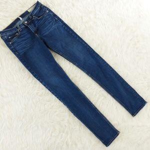 Rag & Bone Wonderland Mid Rise Skinny Jean